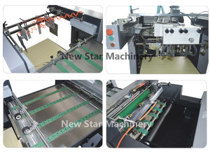 Sguv-660A UV Roller Coating Machine for Paper pictures & photos
