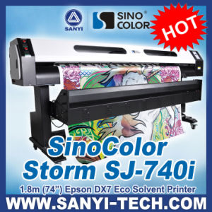 Sinocolor SJ740i Eco Solvent Printer for Dx7 Printhead 1.8/3.2m pictures & photos