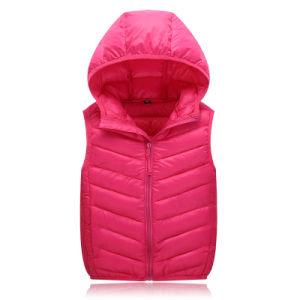 Children Outwear Down Vest Down Jacket for Winter Season 602 pictures & photos