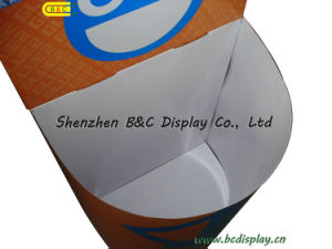 Show Semicircle Barrel, Paper Display Dumpbin (B&C-A086) pictures & photos