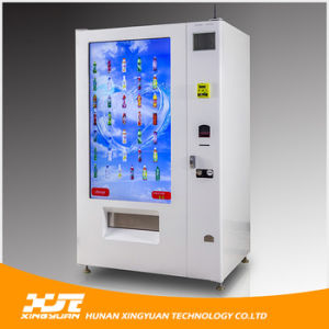 55 Inches Multi-Media Touch Screen Snack & Drink Vending Machine pictures & photos