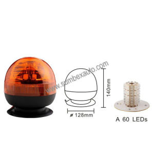 ECE R10 R65 12/24V Magnetic Mount Micro 60 Strobe Beacon LED Warning Light (SM808GA)