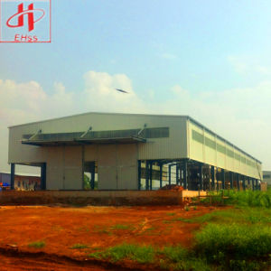 Sandwich Panel Prefabricated Structural Steel Warehouse Buildings pictures & photos