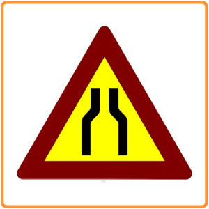 China Manufacture Road Safety for Traffic Warning Sign pictures & photos