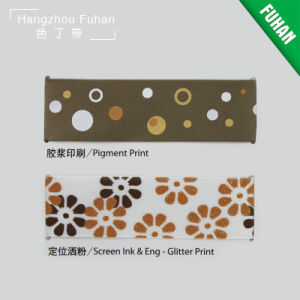 Nice Design Customized Pattern Grosgrain Ribbon pictures & photos