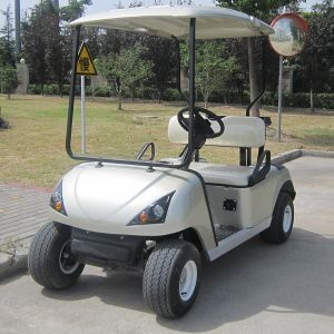 Factory Wholesale 2 Seats Electric Golf Kart for Sale (DG-C2) pictures & photos