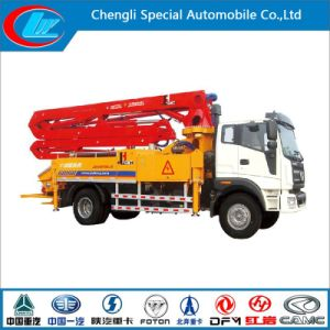 High Quality 56m Concrete Mixer Truck with Pump pictures & photos