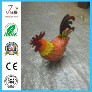 Metal Cock Sculpture, Iron Cock Figurine pictures & photos