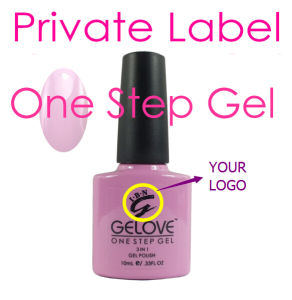 Ibn Private Label High Quality One Step UV Gel Polish pictures & photos