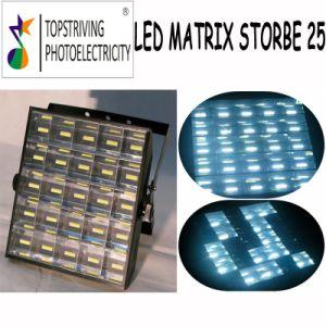 Storbe! LED White 25*6W LED Stage Lighting LED Matrix Strobe 25