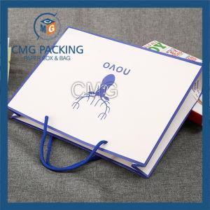 Luxury Matt Lamination Paper Bag (DM-GPBB-124) pictures & photos