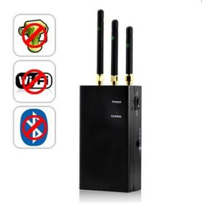 Portable WiFi/GSM/3G Cell Phone Signal Jammer Blocker pictures & photos