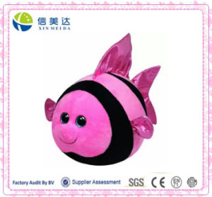 Cute Round Anglefish Plush Toy/Plush Fish Doll pictures & photos