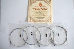 Sinomusik Wholesale Violin Parts King Lion Brand Aluminum Magnesium String pictures & photos