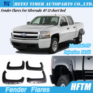 for Silverado 07-12 Short Bed Injection Mold Fender Flares pictures & photos