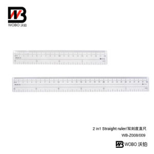 20 30cm Multifunctional Flat Plastic Ruler Office Stationery Supplies