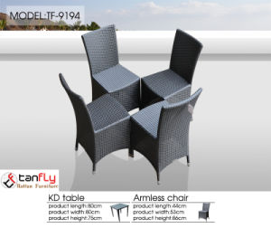 Patio Wicker Rattan Furniture Kd Structure Chair for Outdoor pictures & photos