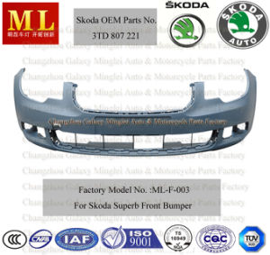 Front Auto Bumper for Skoda Superb From 2008 (3T0 807 221 G) pictures & photos