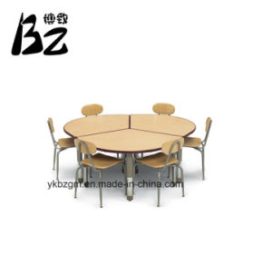 Desk and Chair Library Furniture (BZ-0167) pictures & photos