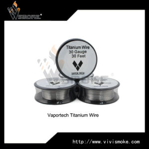 Top Selling Temperature Control Titanium Wire for DIY E Cig by Vaportech