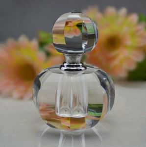 (LT001) Round Classic Crystal Perfume Bottle