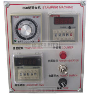 Tam-358 Cheap Pressure Manual Hot Foil Stamping Machine pictures & photos