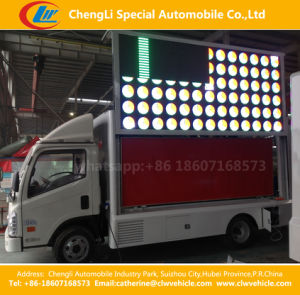 Foton LED Mobile Stage Advertising Truck pictures & photos