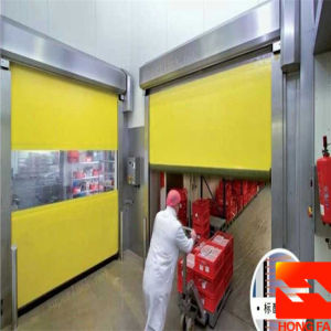 Electric Clearoom High Speed Roll up Door (HF-K439) pictures & photos