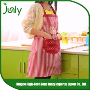 Custom Household Waterproof Printed Polyester Cooking Kitchen Apron pictures & photos