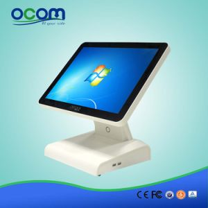 """(POS8619) 15"""" Dual Screen Touch Screen All in One PC Cash Register pictures & photos"""
