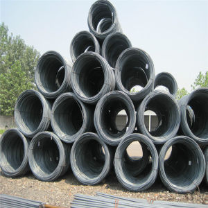 China Hot Rolled SAE 1008b Low Carbon Steel Wire Rod pictures & photos