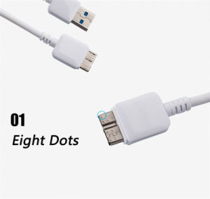 Original Sync and Charge 1m TPE Round USB Charger Cable for Samsung Note 3 (XSSJ-002) pictures & photos