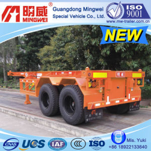 CCC/ ISO/ 20 Ft 2-Axles Container Transport Skelleton Semi Trailer (B)