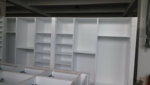 Melamine Walk-in Closets Wd002 pictures & photos