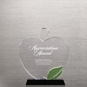 Apple Crystal Trophy for Teachers Award (#76531) pictures & photos