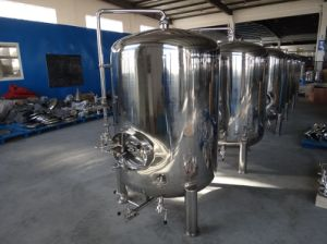 Industrial Beer Brewing Equipment/Beer Equipment/Vertical Stainless Steel Bright Beer Tank pictures & photos