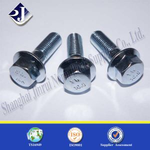 Hex Flange Nut for Automobile Zinc Plated 8.8 pictures & photos