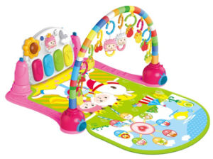 Baby Gym Toy with Piano Plastic Baby Cartoon Toys (H8732042) pictures & photos