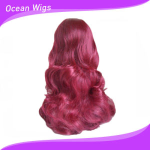 Red Color Synthetic Wig pictures & photos