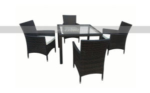 Garden Outdoor Rattan Furniture Dining Set (MTC-098) pictures & photos