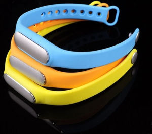 Colorful Silicone Wrist Band for Xiaomi Smart Bracelet