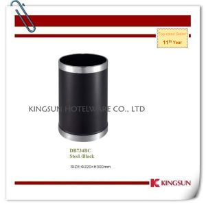 Mini Recycling Bin with Double Fixed Ring Db-734bc pictures & photos