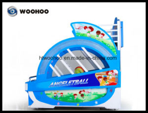 Coin Operated Machine Amusement Park Kids Angeletball Basketball Cager Machine pictures & photos