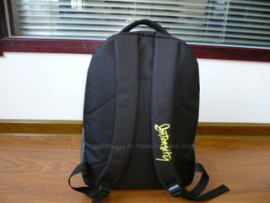 600d Polyester Batminton Sports Backpack with Neon Trims pictures & photos
