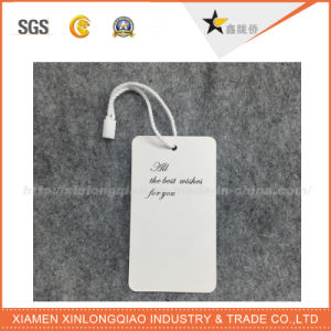 Wholesale High Quality White Color Clothing Label pictures & photos