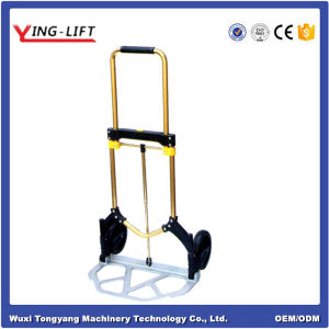 Handle Folding Trolley/Cart with 2 Wheels Ylj80 pictures & photos