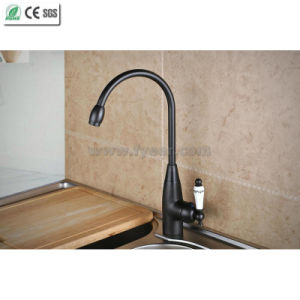 Orb Brass Kitchen Sink Faucet with Ceramic Handle (Q14601KB) pictures & photos