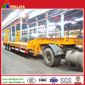 Multi-Purpose Flatbed Cimc Trailers with Rear Ramp pictures & photos
