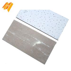 Classe B1 Fireproof Square Edge Mineral Fiber Ceiling Suspention pictures & photos