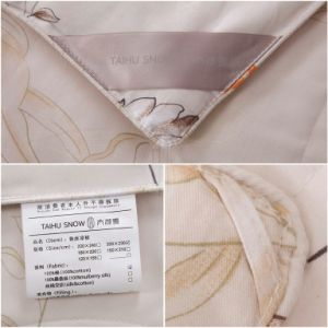 Taihu Snow OEM Oeko-Tex Hotsale 100% Mulberry Silk Quilt pictures & photos